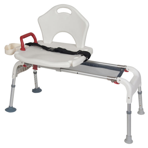 Folding Universal Sliding Transfer Bench - Wealcan