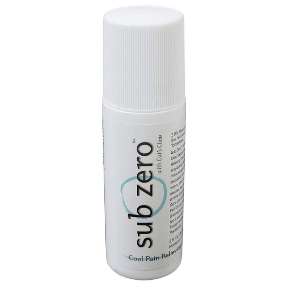Sub Zero Topical Analgesics 3 oz Roll On