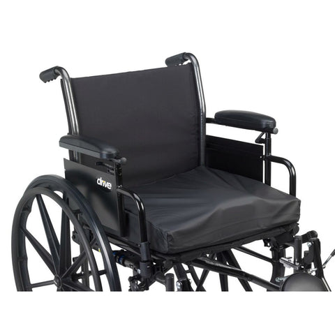 "Titanium 3"" Gel, Foam Wheelchair Cushion - Wealcan"