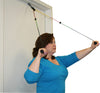 CanDo® Visualizer Shoulder Pulley - Single Pulley with Door Disc