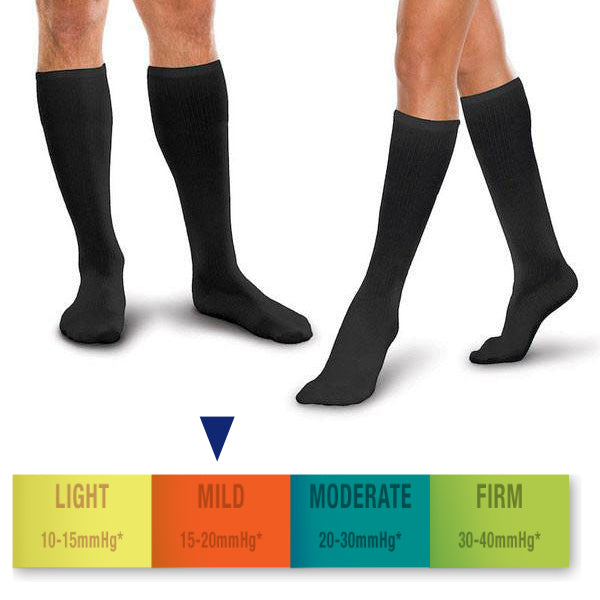 CoreSpun Socks 15-20 mmHg - Wealcan