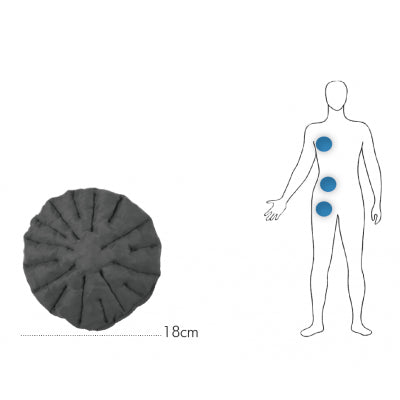 Chip Pad Radial Full  (Lymphedema Chip Pads)