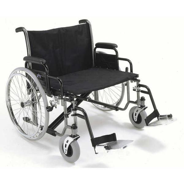 Bariatric Wheelchair Extra-Wide, 700 lb Capacity.  K0007 - Wealcan