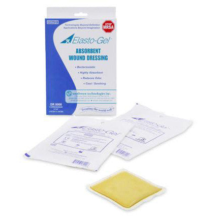 Elasto-Gel Sterile Wound Dressings (Without Tape) , 5/Box - Wealcan