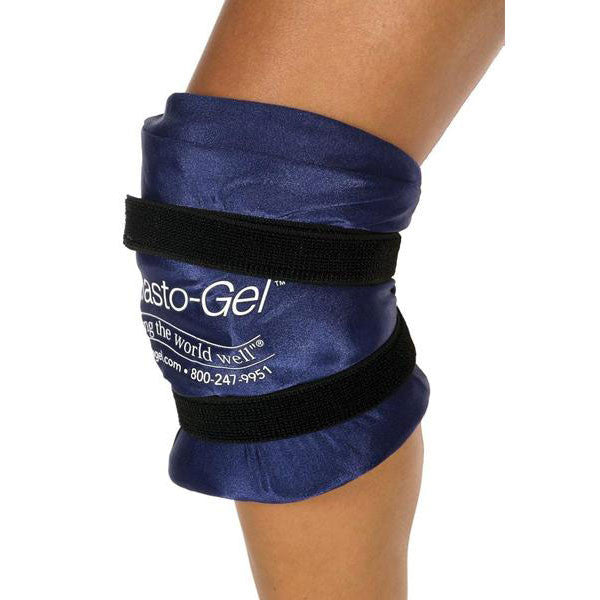 Knee Wrap w/ Patella Hole, Hot or Cold Therapy - Wealcan
