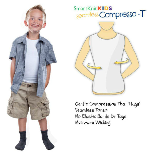 Kids Seamless Compresso-T - Wealcan