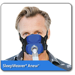 SleepWeaver Anew Soft Cloth Full Face Cpap Mask