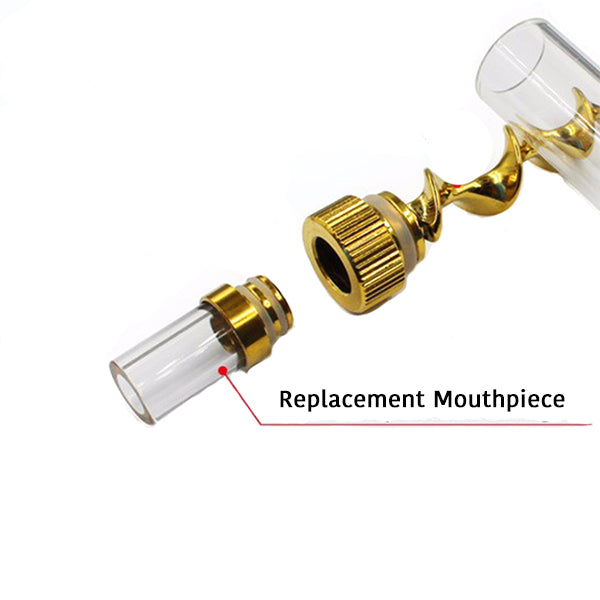 Mini Glass Pipe Replacement Mouthpiece - The Lux Brand