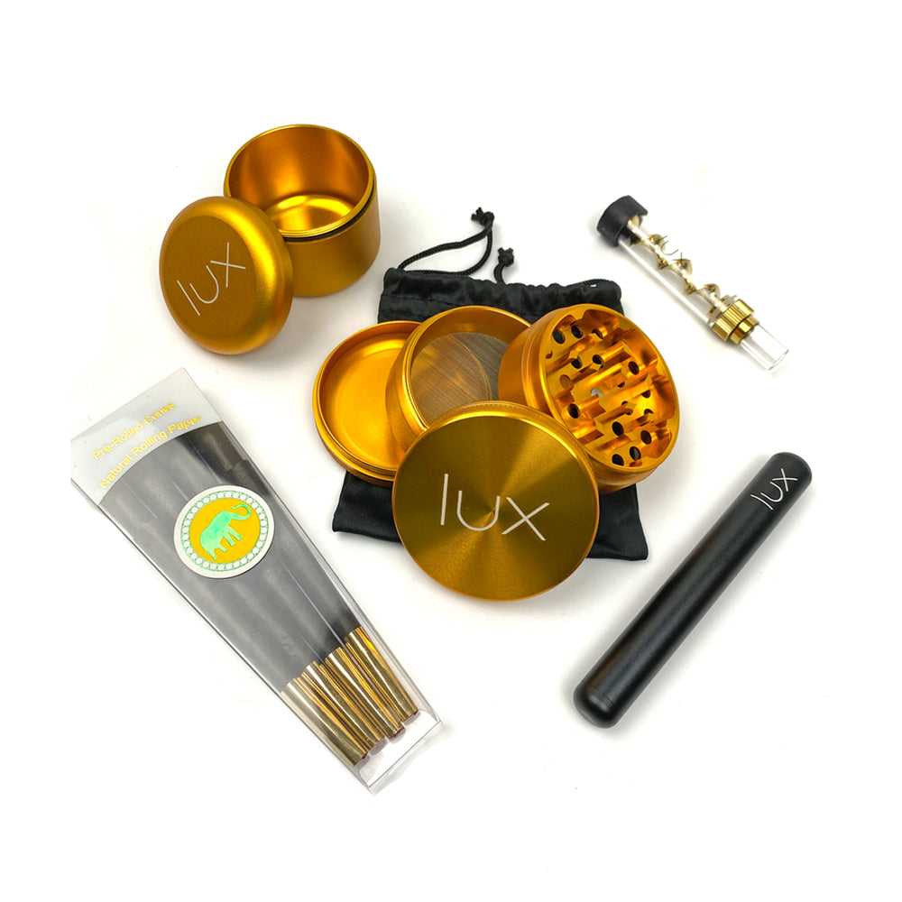 Lux Essentials Black & Gold Jar Pack - The Lux Brand
