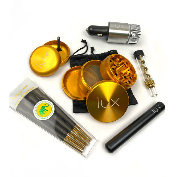 Lux Essentials Black & Gold Purifier Pack - The Lux Brand