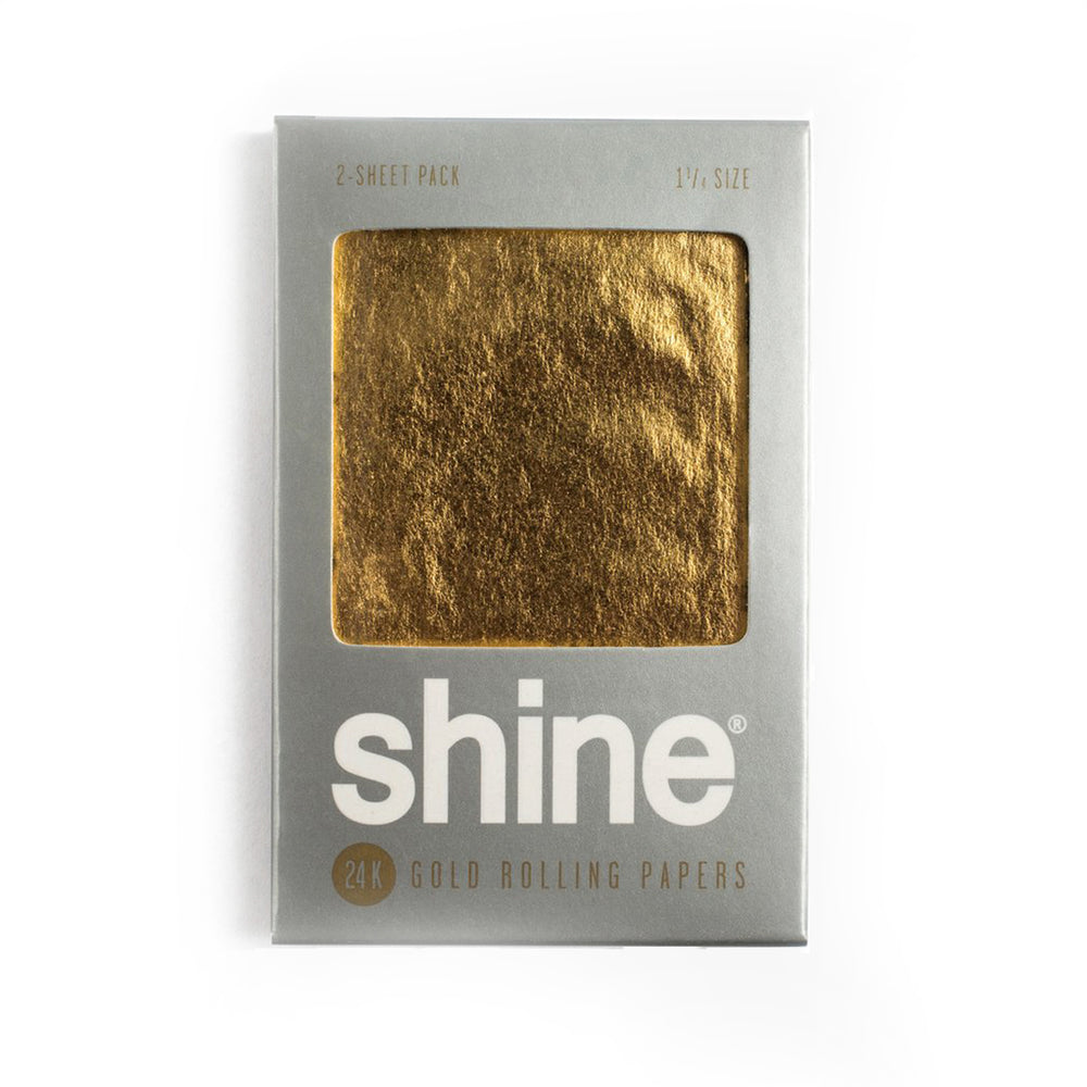Shine® 24K Gold Rolling Papers | 2-Sheet Pack - The Lux Brand