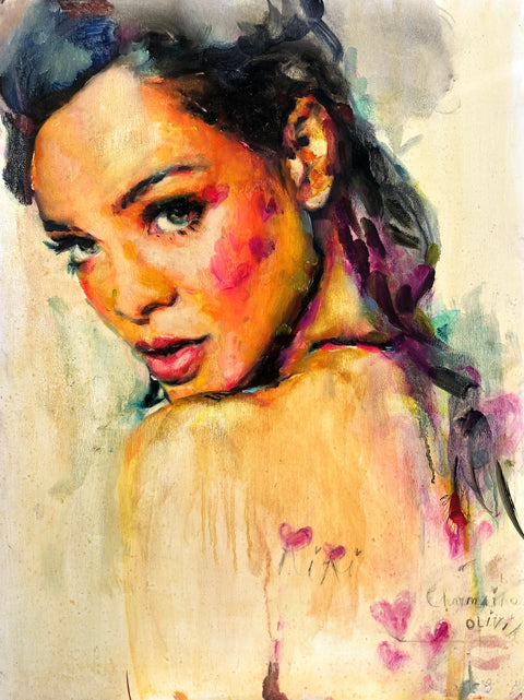 Riri Original Painting
