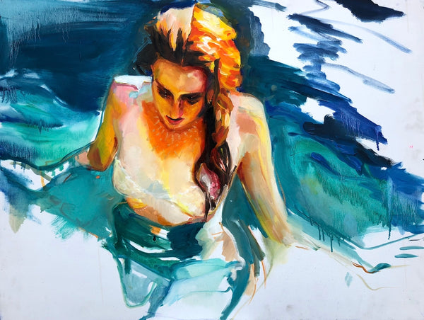 Water Nymph Original Painting