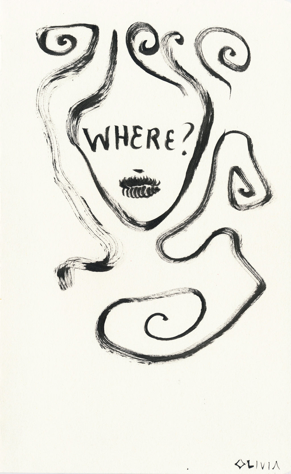 Where? Original Drawing