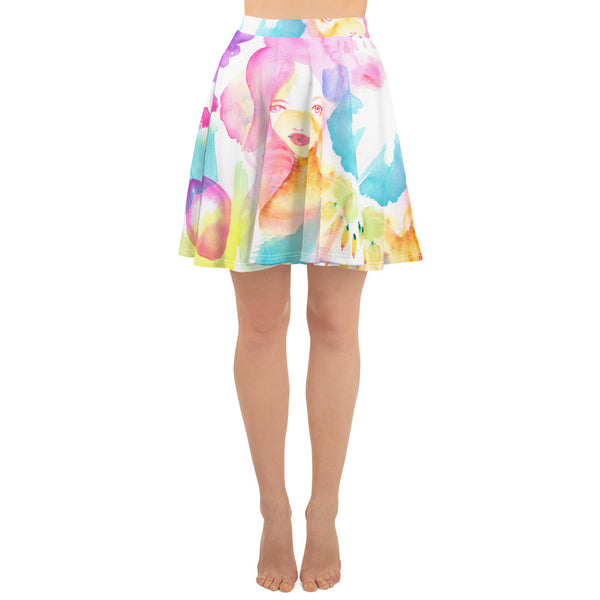 Wildflowers Skater Skirt