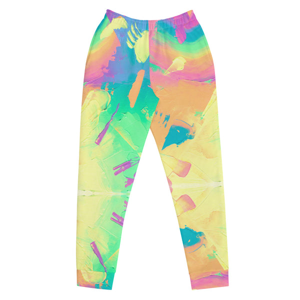 Rainbow Abstract Sweatpants