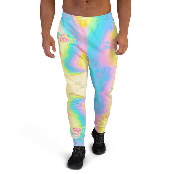 Glitch Girl Men's Sweatpants