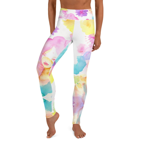 Wildflowers Yoga Leggings
