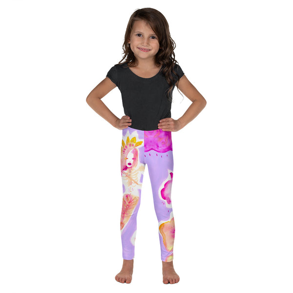 Lavender Kids Leggings