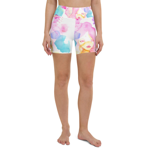 Wildflowers Yoga Shorts