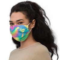 Rainbow Adjustable Face Mask