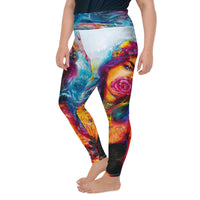 Echo Plus Sized Yoga Leggings
