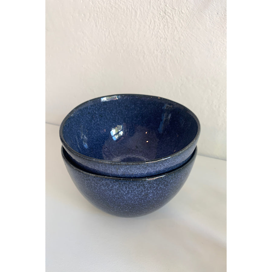 Ceramic Cereal bowl - Dark Blue
