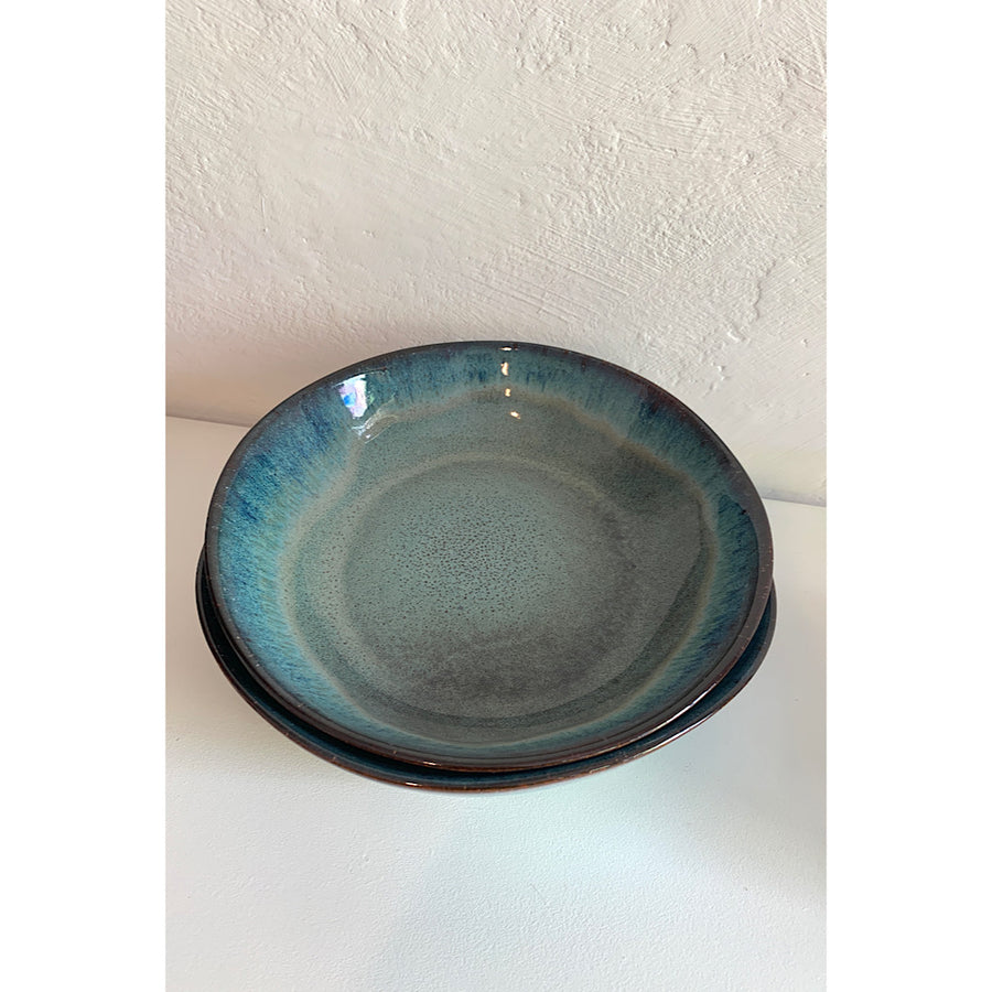 Ceramic Pasta bowl - Blue