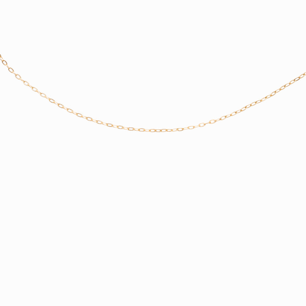 Link Chain Necklace in Gold
