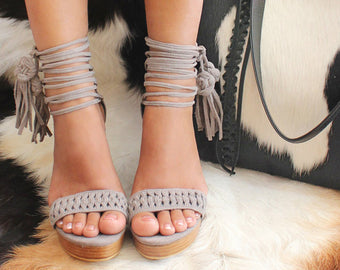 Tiffany Suede Grey