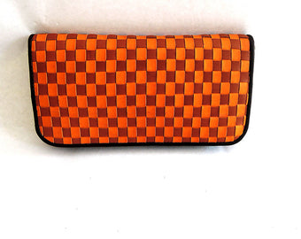 Darling Wallet Brown Orange