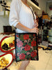 Amanda Bag Black Red Roses