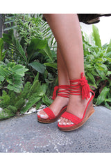 Tiffany Suede Red