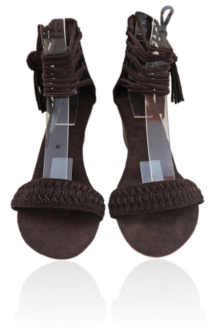 Guinevere Suede Brown