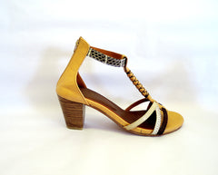 UTL Brown with Block Heel.