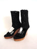 Michelle Boot Platform Black