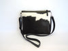 Crossbody bag in Brown White Calf Hair. Grace Bag