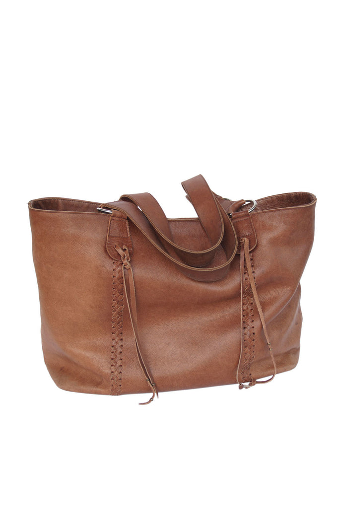 Leather Tote Bag in Brown. Shoulder Bag for Women's. Stephanie Bag