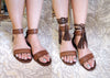 Laura Flats Antique Brown