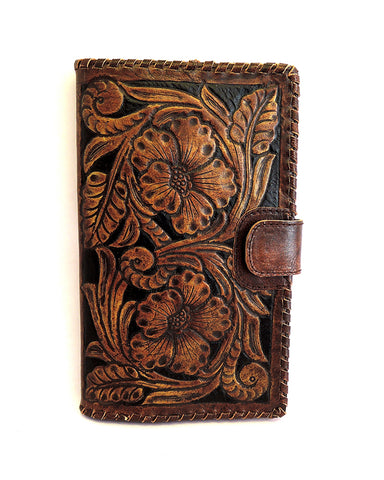 Antique Wallet Vintage Brown