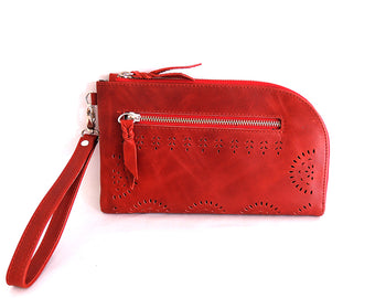 Eva Clutch Red