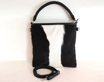 Margot Bag Black White