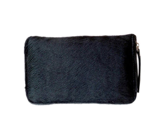 Black Cowhide wallet for women's. Darling Wallet