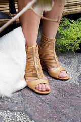 Gemma Multi Strap Wedge