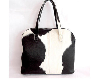 COWHIDE HAIR DOCUMENT Bag For All Your Electronics