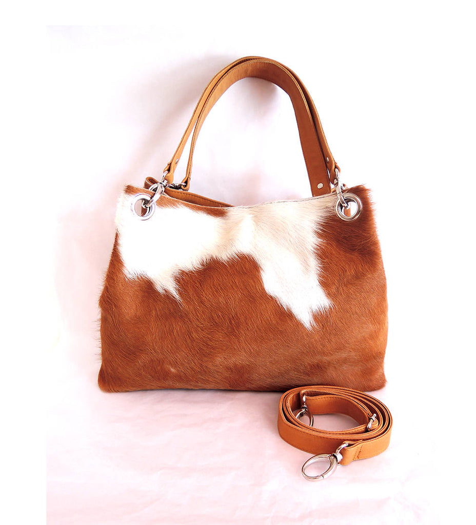 COWHIDE PURSE, COWHIDE Bags in Tan Cow Hair on Hide, Western