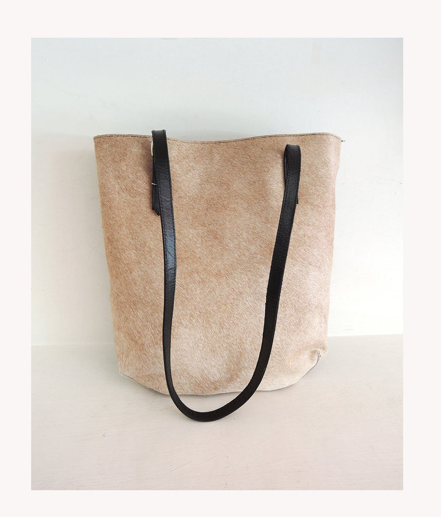 CREAM HAIR on HIDE Bag, Cowhide Bags, Pony Hair Bag
