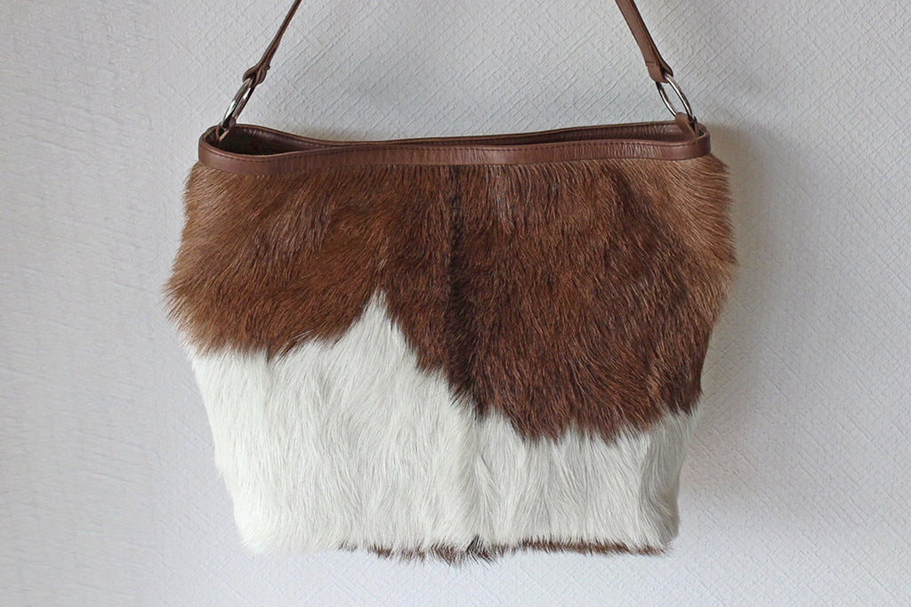 COWHIDE PURSE, COWHIDE Handbag, Leather Tote Bag
