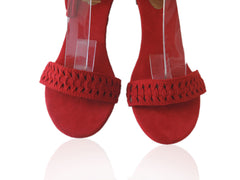 Guinevere Suede Red