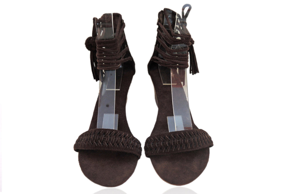 Guinevere Suede Dark Brown